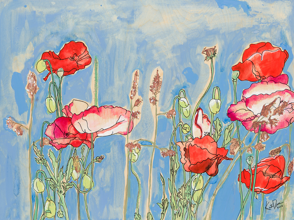 SOLD Wild Poppies