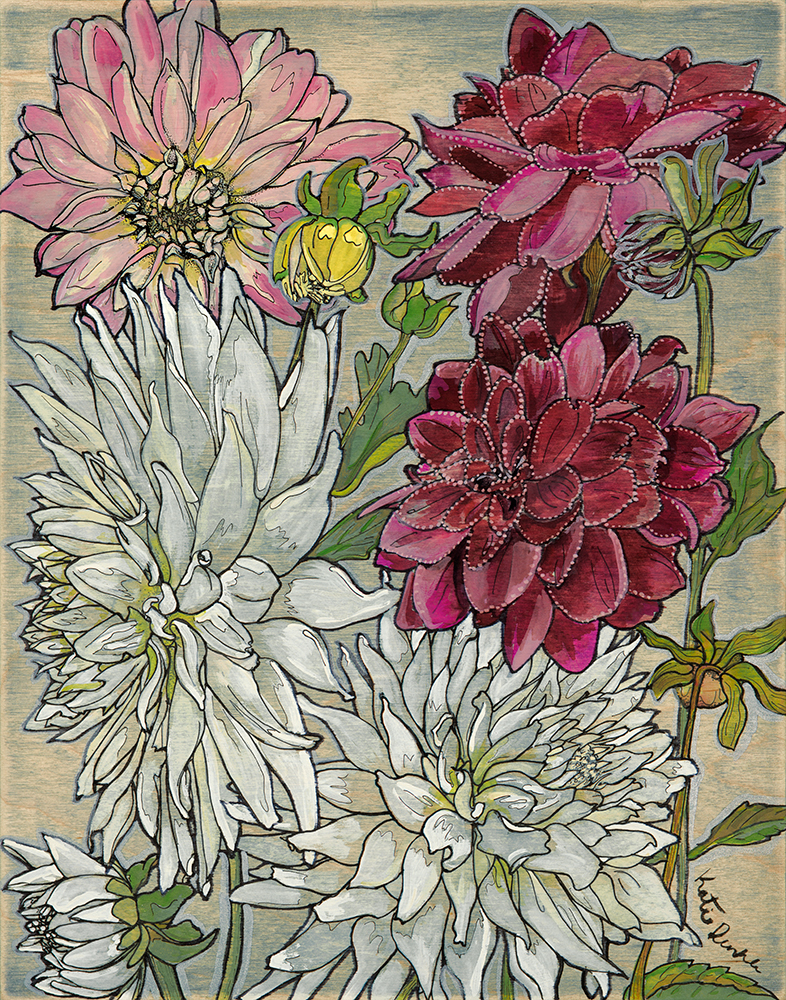 SOLD Mary's Dahlias
