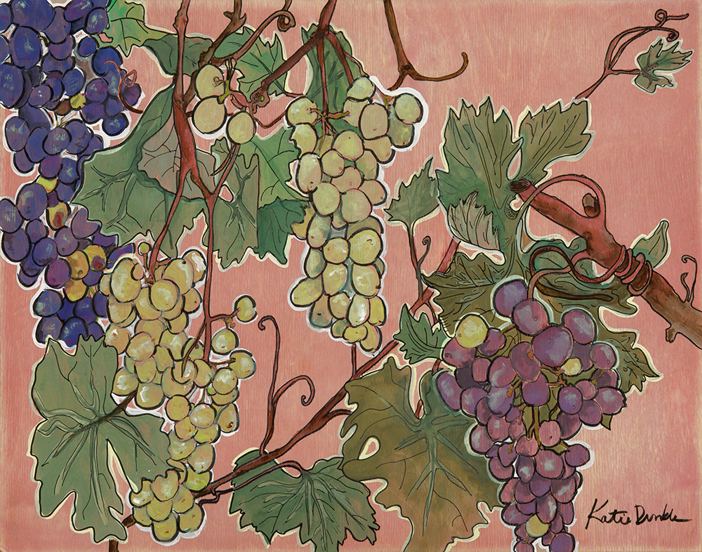 Napa Grapes SOLD