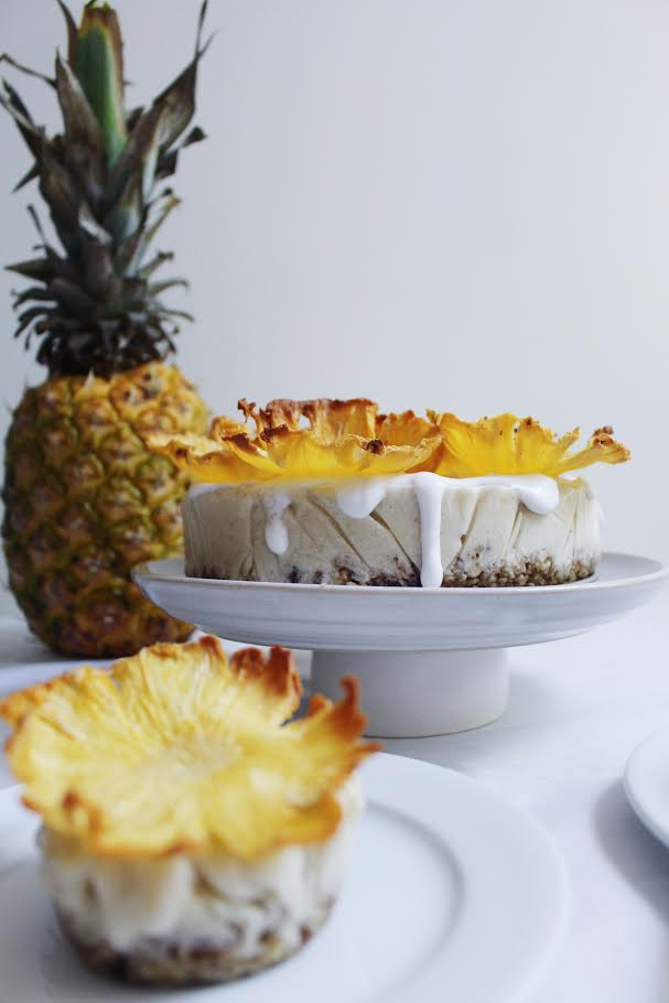 Pi 241 A Colada Quot Ice Cream Quot Cake The Naked Fig