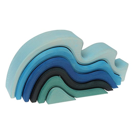 Waves Nesting Blocks $39