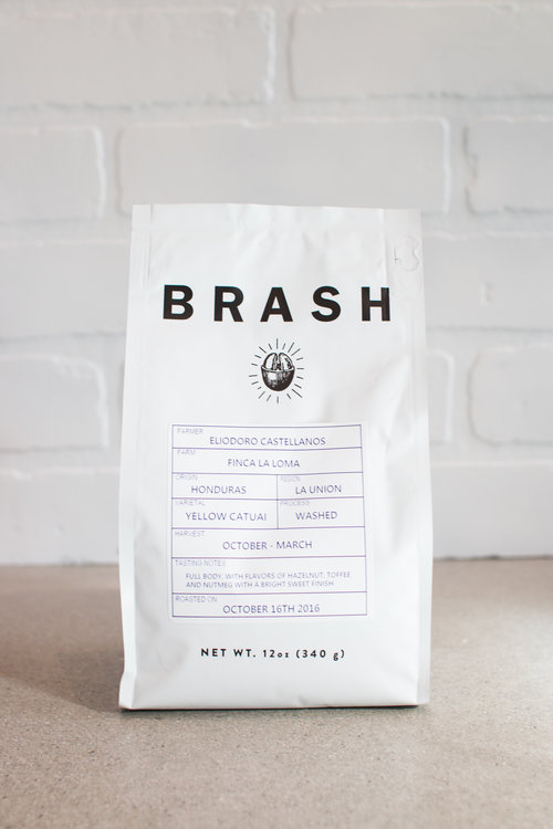 Brash Coffee $18