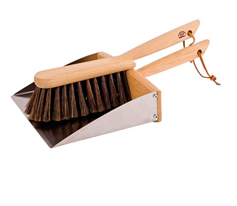 Horsehair Brush & Dustpan $64