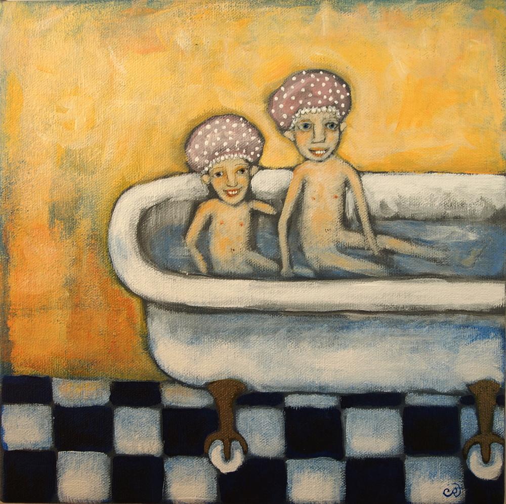 sister bath