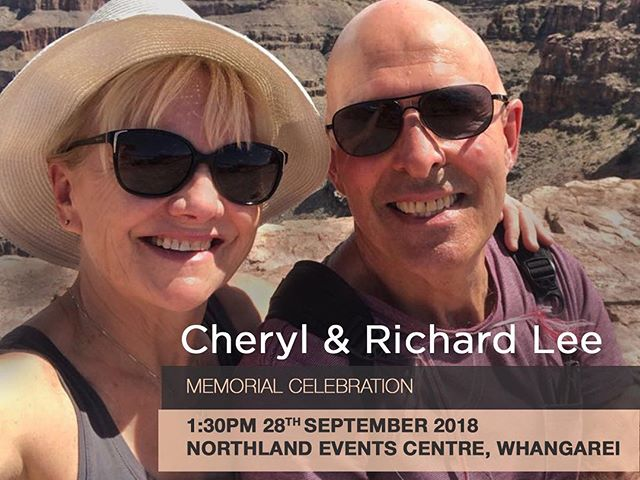 Shit times, but sure makes you appreciate your family and mates. In case you missed it, and can make it, we'd love to see you this Friday in Whangarei to farewell these splendid legends, my Mum and Dad. Aroha nui xx