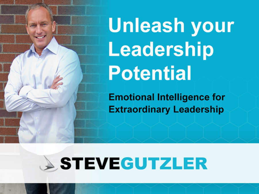 IN TODAY'S FAST-PACED COMPETITIVE WORK ENVIRONMENT, HOW EFFECTIVE ARE YOU AS A LEADER? EMOTIONAL INTELLIGENCE (EI), OUR ABILITY TO MANAGE OURSELVES AND OTHERS AROUND US, IS THE SINGLE GREATEST CONTRIBUTOR TO PERSONAL EXCELLENCE AND HIGH PERFORMANCE IN LEADERSHIP.