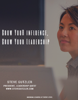 Genuine leadership is not reserved or limited to the executive leadership team. It is shown through personal and powerful influence. Learn more about this new training today!