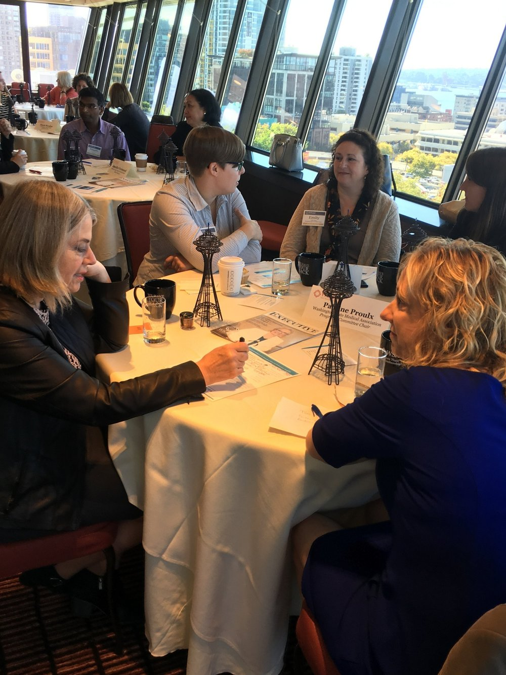 Great time with the WSAE at the Space Needle last week presenting Emotional Intelligence for Extraordinary Leaders!