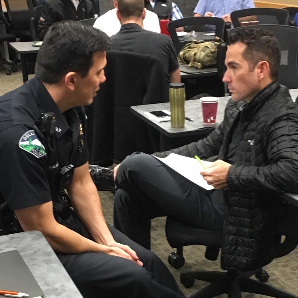 Honored to partner with the Bellingham Police Department in Emotional Intelligence training last week! What an amazing group of officers and staff!