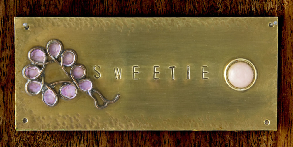 Sweetie plaque.JPG