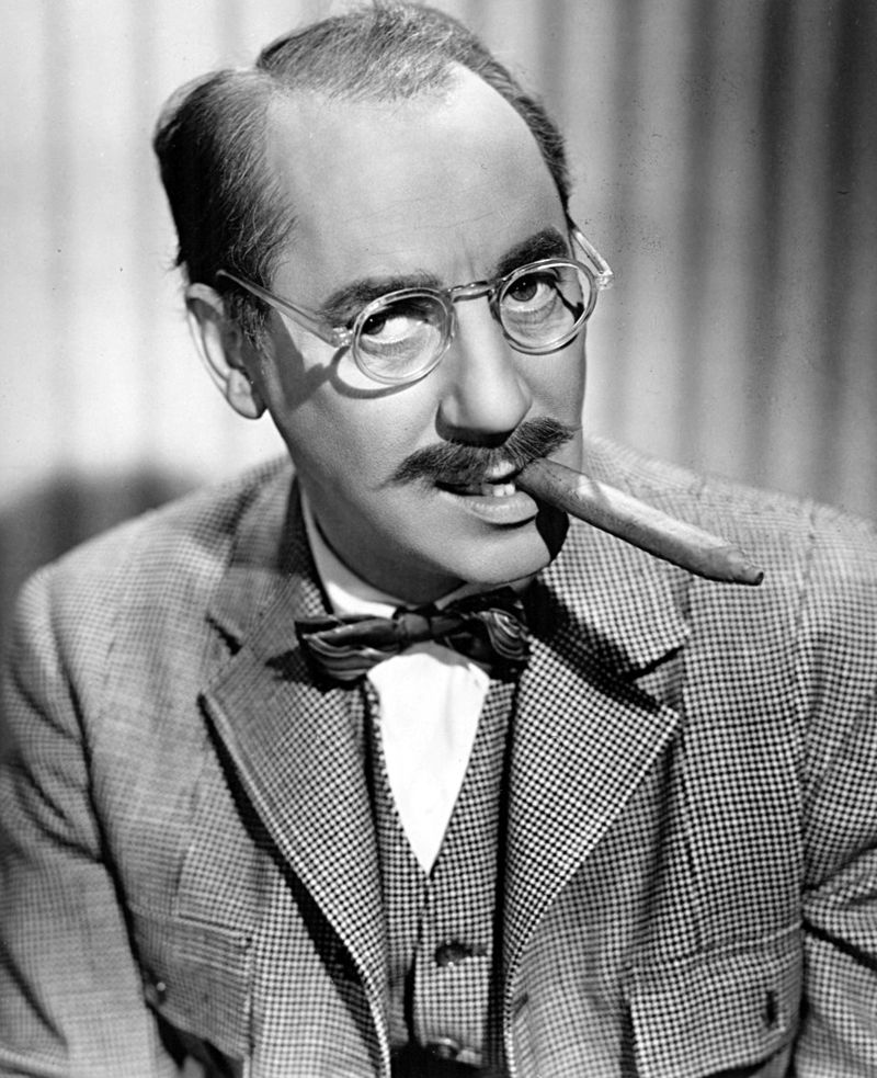 Time flies like an arrow.    Fruit flies like a banana.   - Groucho Marx.