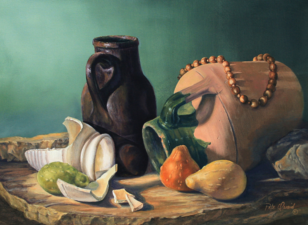 Jars of Clay 18 x 24 oil on canvas Pete Quaid.jpg