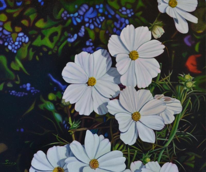 Mi Mi's Garden_19x6_OilCanvas_Bob Shepherd.JPG