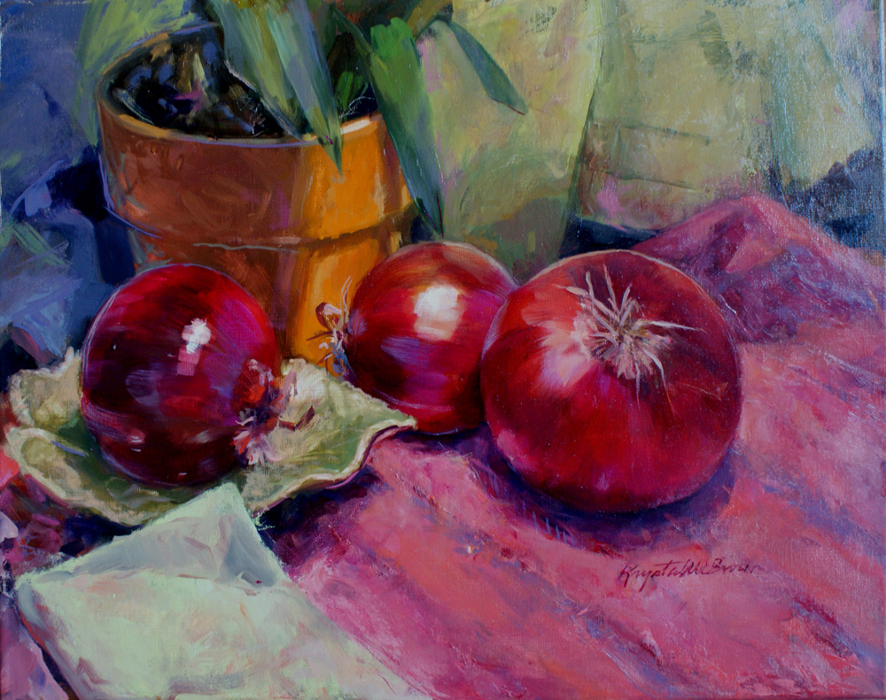 Onions Steal the Show_16X20_oil_KrystalWBrown.jpg