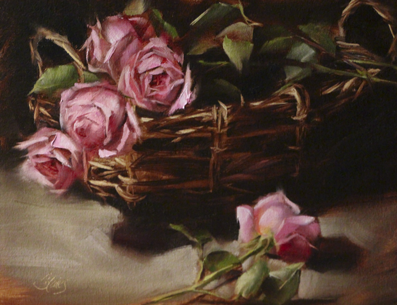 Rose Garden Bounty_11x14_oilonlinen_pamelablaies.JPG