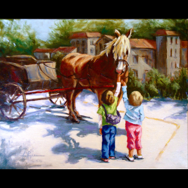 ThanksForTheRide_16x20_oilcanvas_AnnRogers.jpg