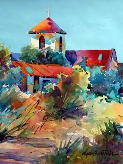 los ojos mission II_18 x 14_watercolorpaper_dyannewton.jpg