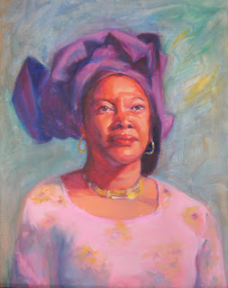 The Nigerian Queen 16 x 20 oil on panel_beth vandeventer.jpg