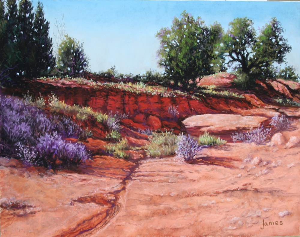 Betty James Dry Creek Pastel 11 x 14.JPG