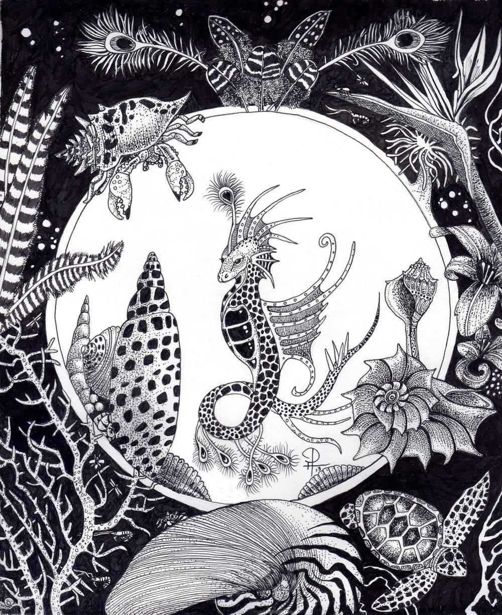 DougHiser_seahorsefantasy_12x16_ink.jpg