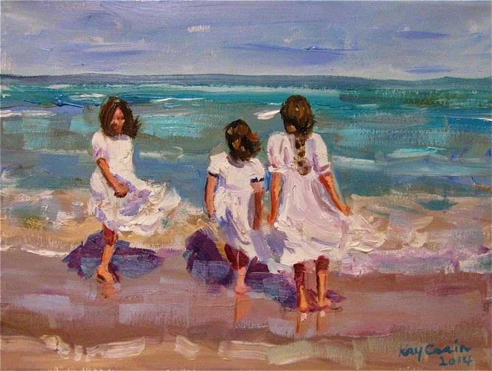 kaycrain_threegirlswindybeach_9x12_oilcanvas.jpg