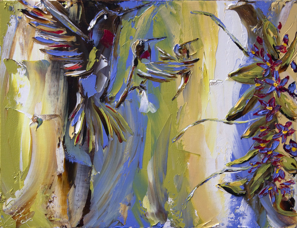 bethlenderman_hummingbirdsisters_11x14_oilcanvas.jpg