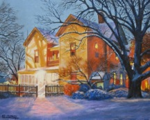 Ed Crumley Charlie's House 16 x 20 Oil Linen.jpeg