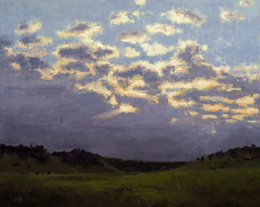Janet Broussard Panhandle Sunset 24 x 30 Oil on canvas.jpg