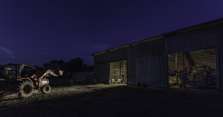 "$1,000 Grand Prize Award • ""The Barn"" • copyright Stephen Fisher, photographer"
