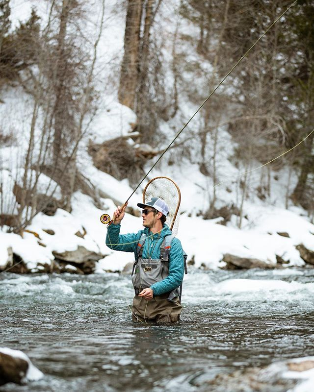 Clear eyes, full hearts, can't feel the hands. Wait, that's not it... // Shot for @senderopc [Heeney, CO - January 2019 - #optoutside #getoutstayout #solarlife #explore #wanderlust #flyfishing #spiritofthewest #soulofthewild]