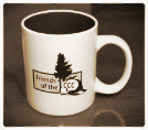 Friends of the CCC Coffee & Tea Mug - Booster Level