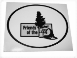Friends of the CCC Window Decal - Supporter Level
