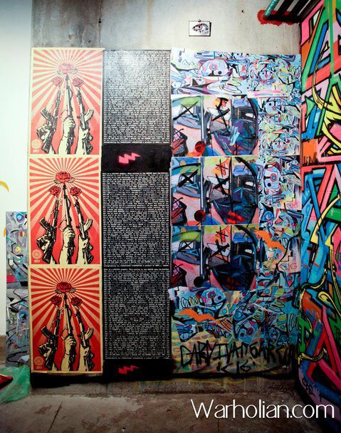 Off The Wall 6 ft x30ft
