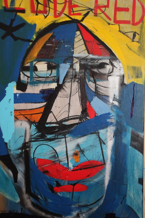 Code Red 33x40 Oil 2012