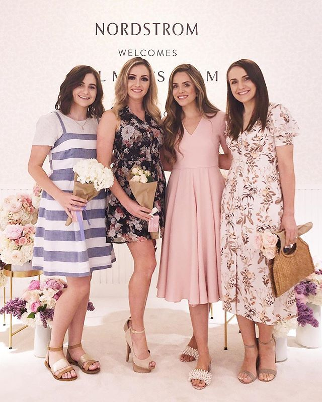 So this happened, met my favorite blogger the beautiful @juliahengel at the @nordstromwalnutcreek event. Congratulations on your success Julia and Thomas! The @galmeetsglam dress collection is gorgeous and I cannot wait to wear all the dresses. #girlboss #galmeetsglam #nordstrom