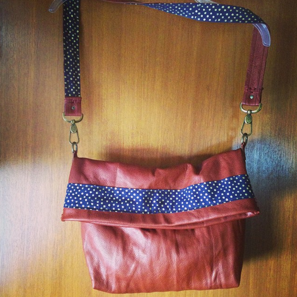 Slouch body purse, original design and creation.