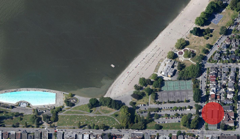 Map of Kits Beach.JPG