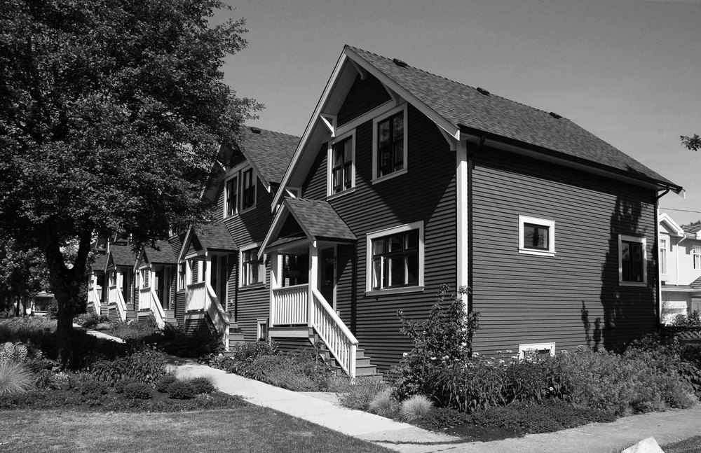 Location: Mount Pleasant, Vancouver / Size: 180 sq m, Five Units / Completed: 2006 / Renovation