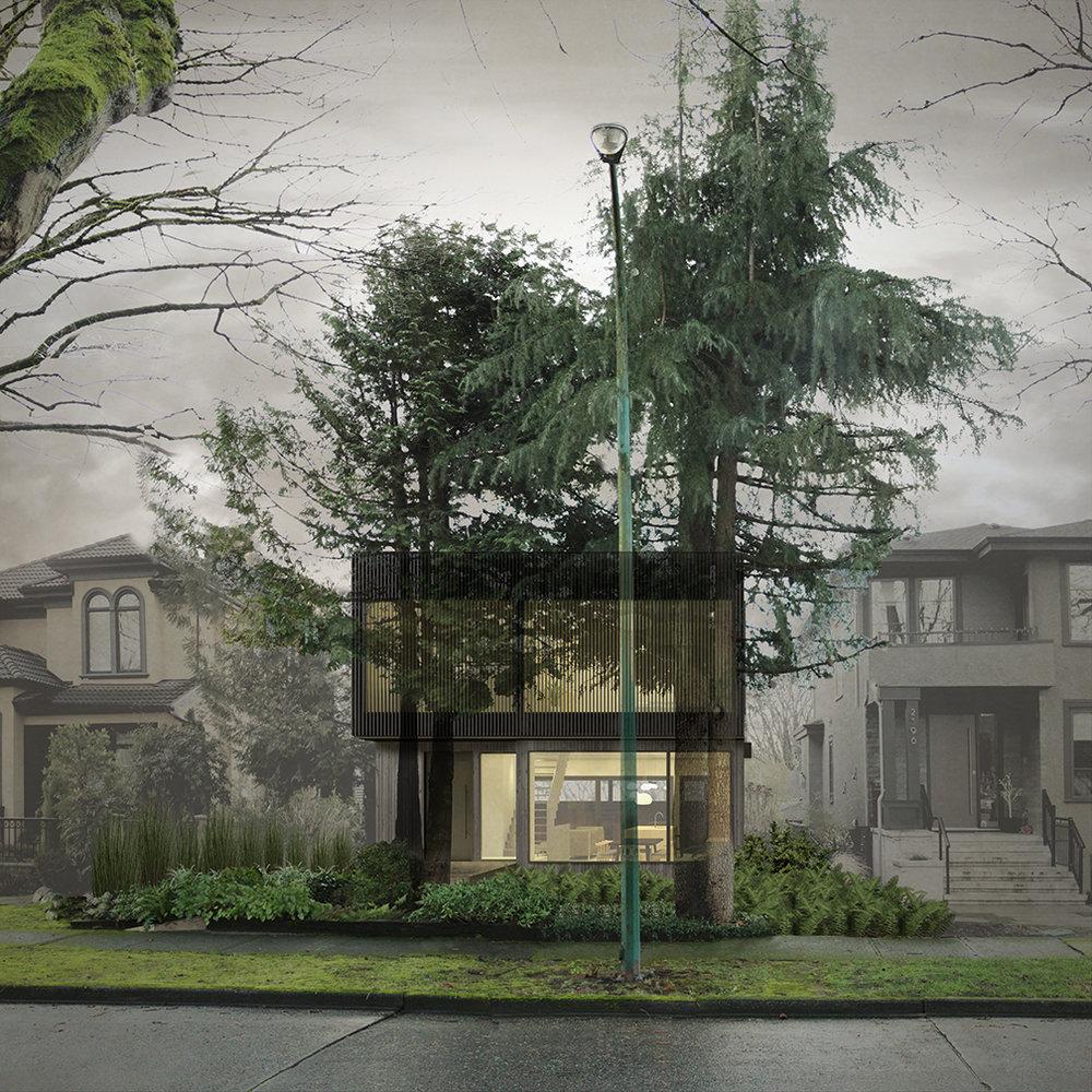 Location: Kitsilano, Vancouver / Size: 280 sq m / Status: Design