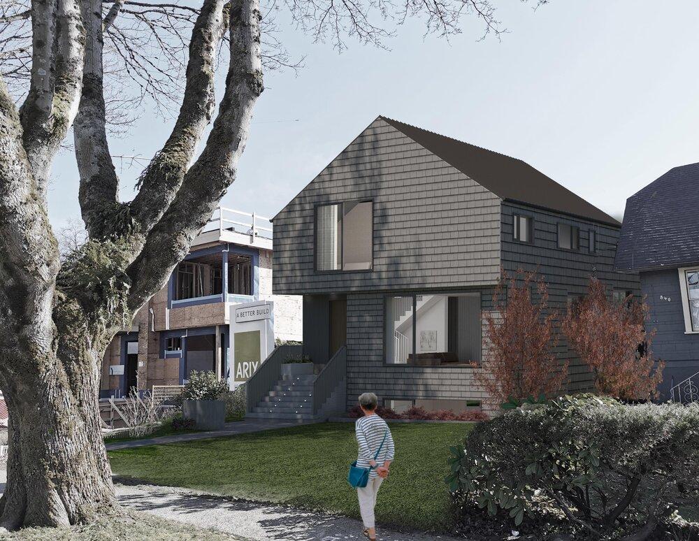 Location: Vancouver / Size: 300 sq m / Status: Under construction