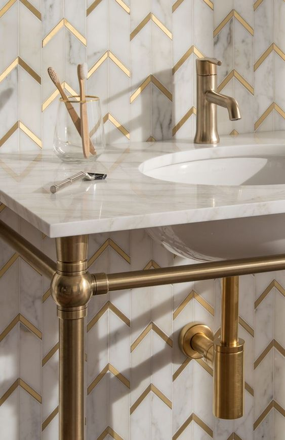 Before you start choosing the marble floor tiles and polished brass taps, make sure all the essential items are budgeted for before you start adding the styling extras.Image courtesy of Pinterest