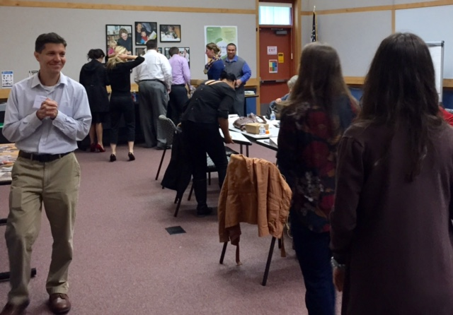 Mid-day with the Young Professionals at  Sno-Isle Libraries Service Center  in Marysville.