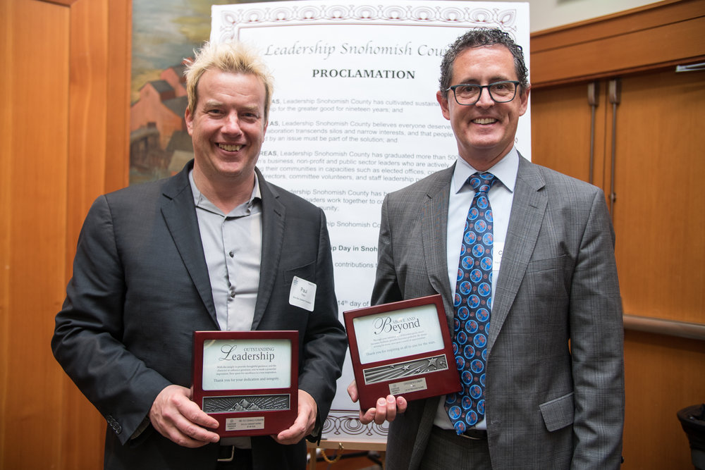 award winners Paul Pitkin and Chris Knapp at LSC Leadership Day breakfast.jpg