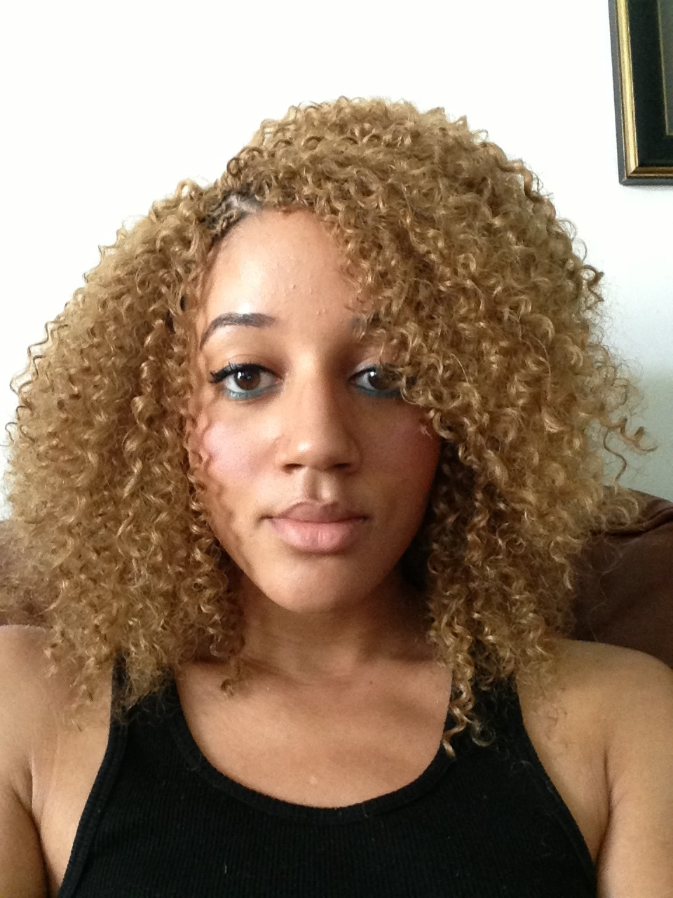 ... Chronicles: PhiPhi216 tries out Blonde Crochet Braids - TamThyme