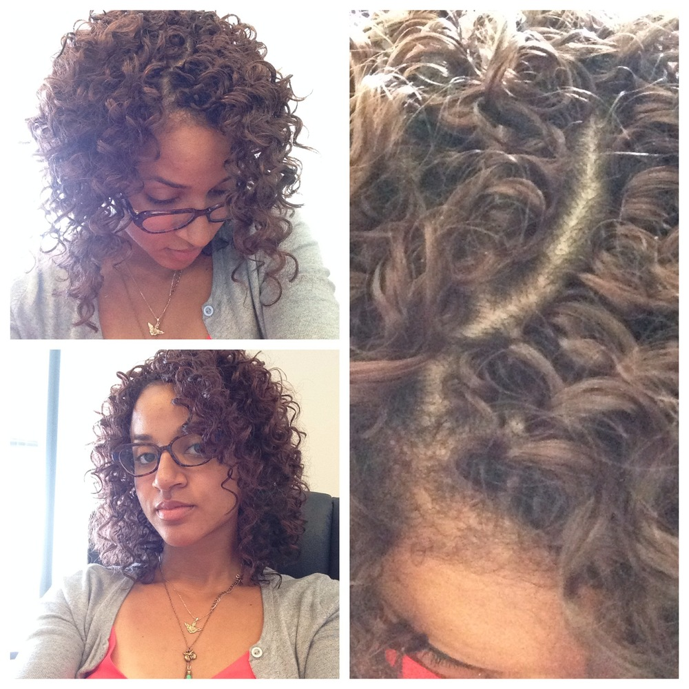 Crochet Braids Part : Deep Twist Crochet Braids , Freetress Gogo Curl Crochet Braids ...
