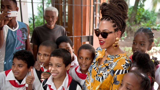 Beyonce's Cuba Vacation Hairstyle