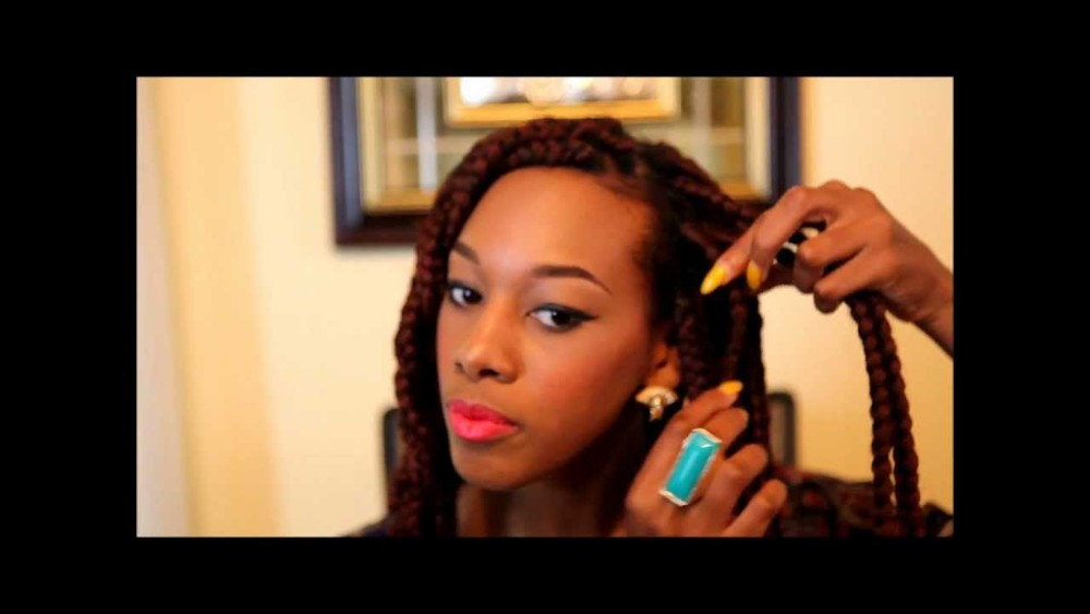 Box Braids youtube still of SadeOgun