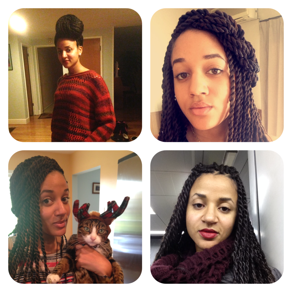 Senegalese Twist Rope Braid Styles