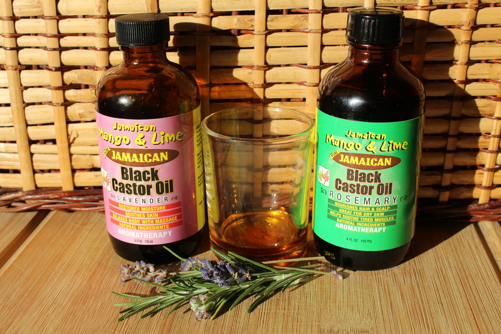Mango and Lime Jamaican Black Castor Oil - Rosemary and Lavender