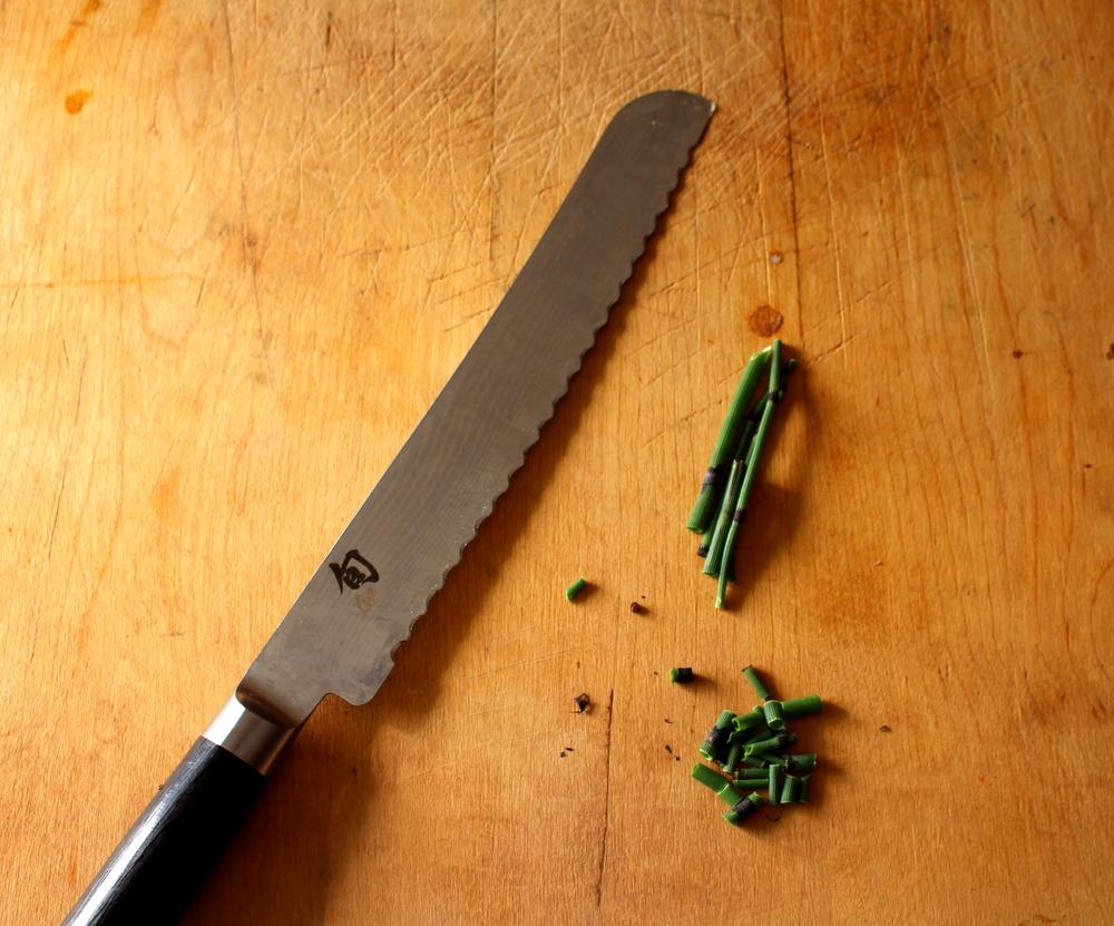chopping horsetail